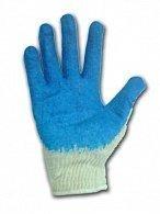 Строительные перчатки, с латексным покрытием